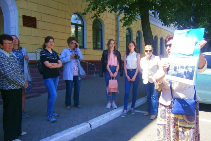 Экскурсия «Брянский архитектурный авангард». 9 июня 2018 г.