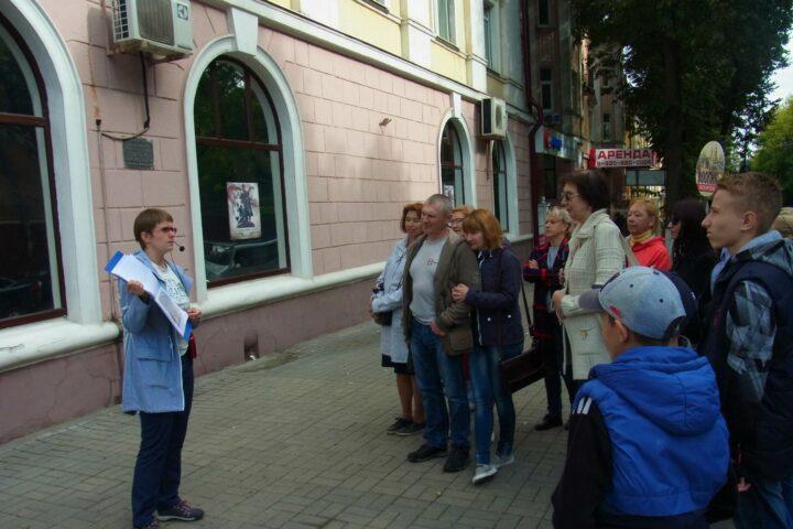 Экскурсия «Любимый город, возрождённый из руин». 16 сентября 2018 г.