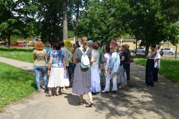 Экскурсия «Портал в начало XX века: по Вокзальной и Парковой». 14 июля 2018 г.