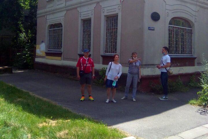 Экскурсия «Портал в начало XX века: по Вокзальной и Парковой». 25 июля 2020 г.