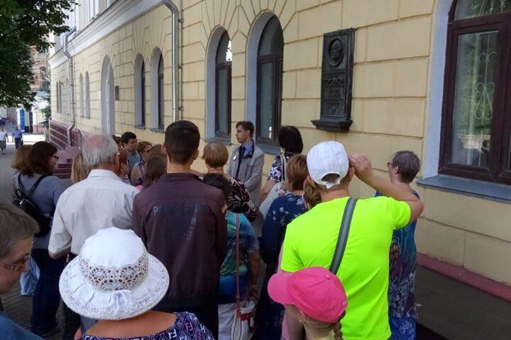 Экскурсия «Тютчев и Брянск». 7 июля 2018 г.
