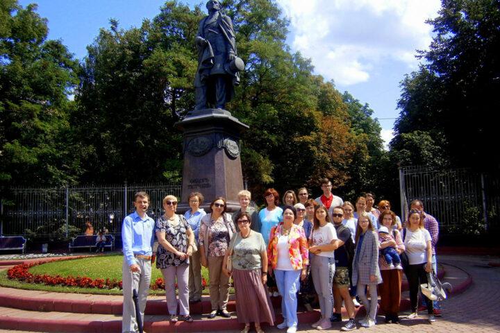 Экскурсия «Тютчев и Брянск». 20 июля 2019 г.