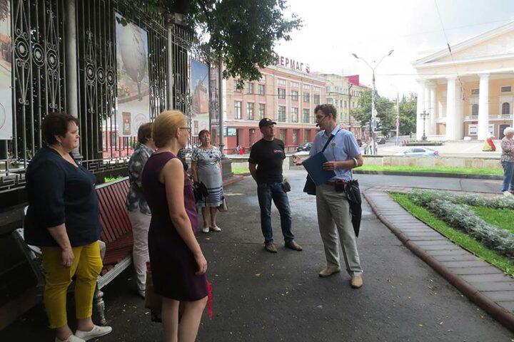 Экскурсия «Тютчев и Брянск». 21 июля 2018 г.